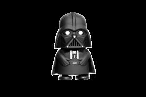 small cute figurine of Darth Vader