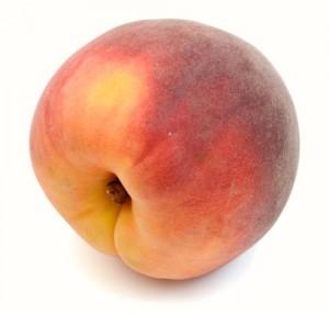 a bruised peach