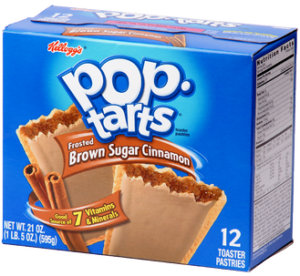 box of Brown Sugar Cinnamon Pop-Tarts