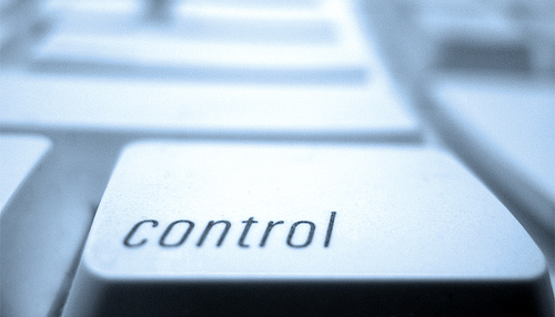 control key, used to signify controlling behavior