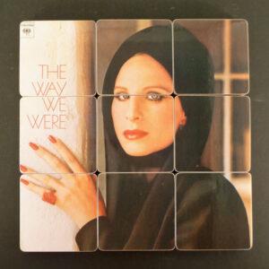 a 9-coaster set of Streisand's