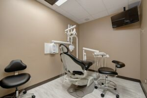 a dental office