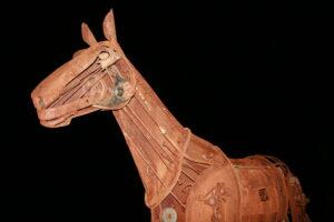 a steampunk Trojan horse