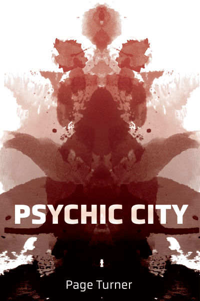 Book cover of Psychic City, by Page Turner.