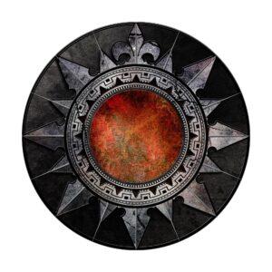 a decorative shield