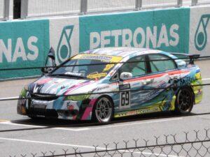 a racecar
